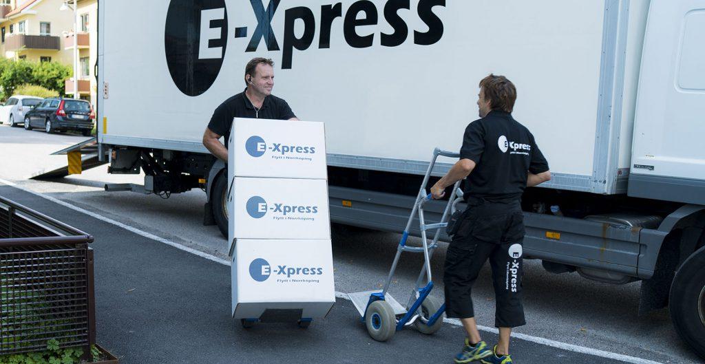 Flyttservice av E-Xpress i Norrköping