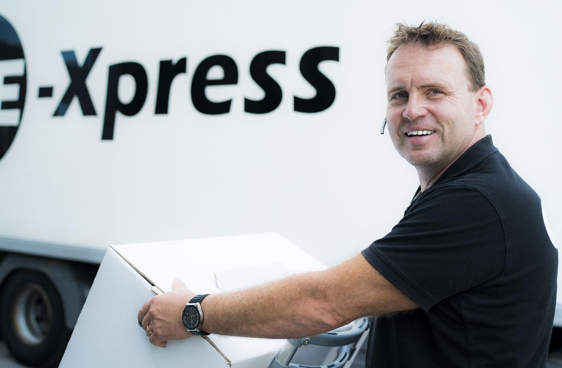 Fredrik på E-Xpress